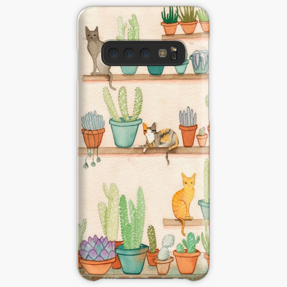 Cats and Cacti Case & Skin for Samsung Galaxy