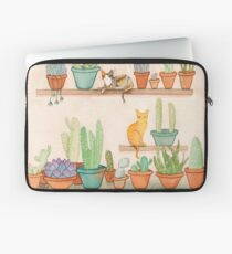 Cats and Cacti Laptop Sleeve