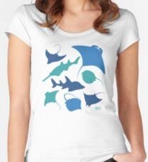 Rays! Women's Fitted Scoop T-Shirt