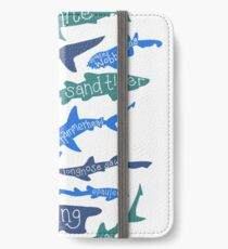 Sharks! iPhone Wallet/Case/Skin