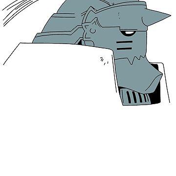 FullMetal Alchemist - Alphonse by CataRedBubble