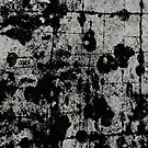 Textured Contrast 1 - Study In Black And White by Printpix