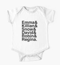 Emma & Killian & Snow & David & Robin & Regina. (OUAT) Kids Clothes