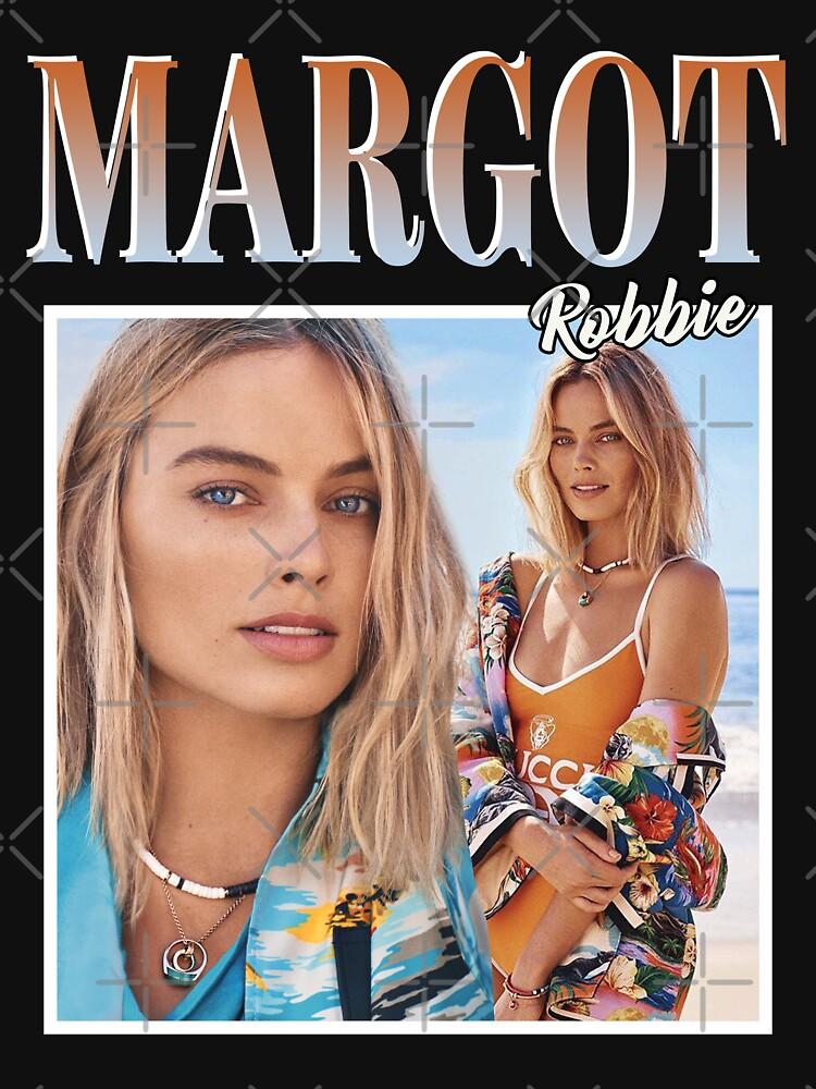 Margot Robbie T-Shirt by silvieex