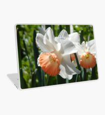Two-tone Daffodils Laptop Skin