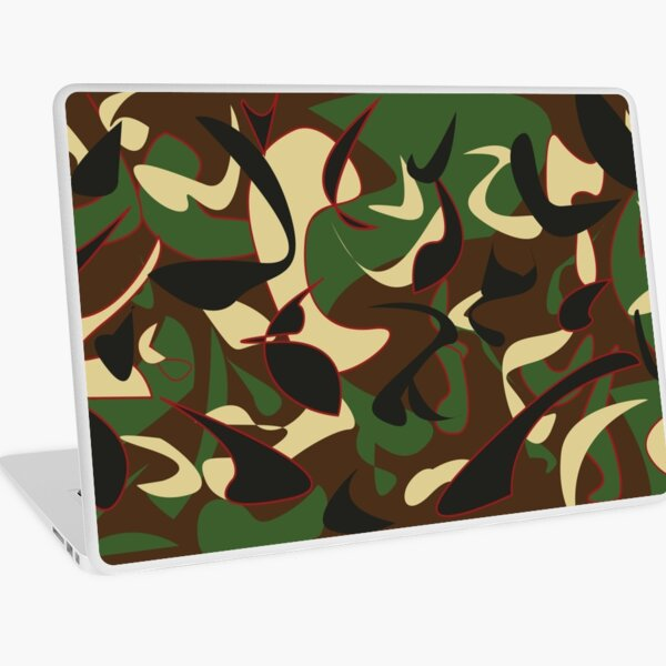 Apache Print Laptop Skin