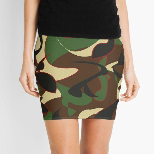 Apache Print Mini Skirt