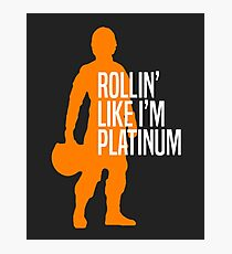 Luke Skywalker - Rollin' Like I'm Platinum Photographic Print