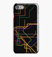 NYC Subway Lines iPhone Case/Skin