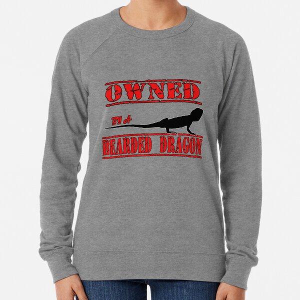 Owned By A Bearded  Lightweight Sweatshirt