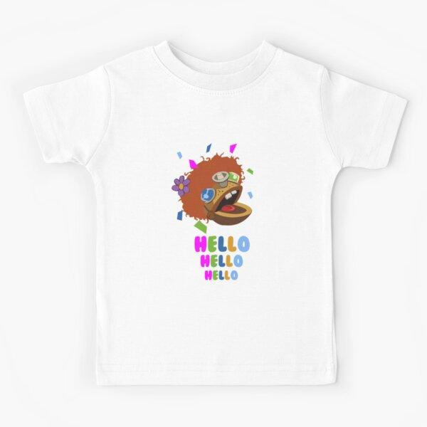 hola tron Camiseta para niños