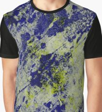 Textured Colour 2 - Study In Blue and Yellow Graphic T-Shirt