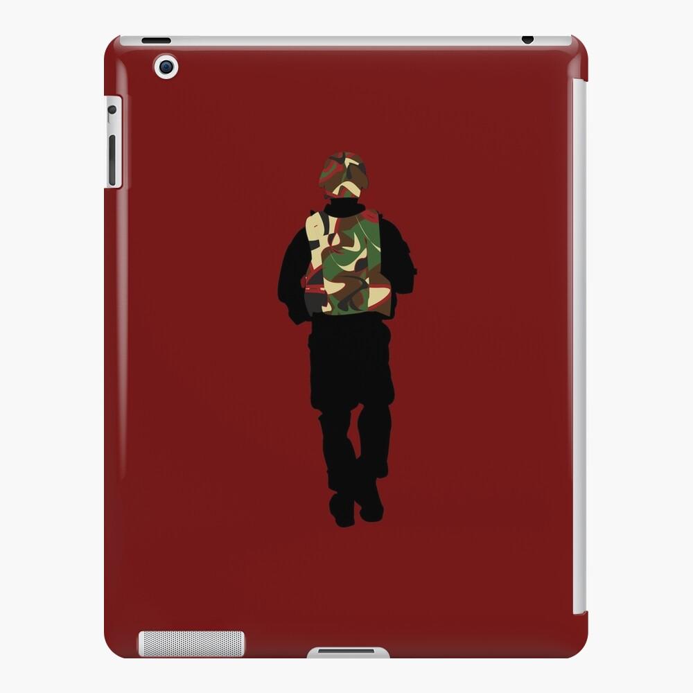 Tiger Striped Apache iPad Case & Skin