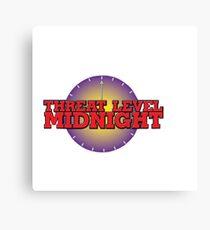 Threat Level Midnight Canvas Print