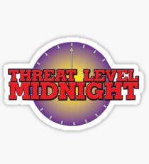 Bedrohungsstufe Mitternacht Sticker