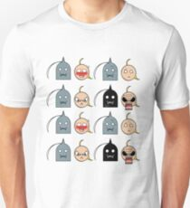 Ed and Al - Chibi expressions T-Shirt