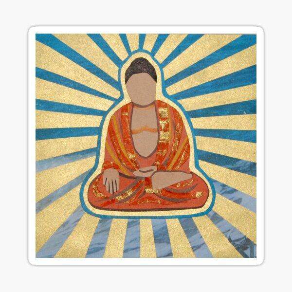 Ocean Buddha Sticker