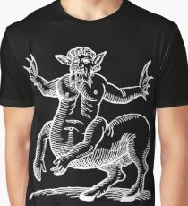 Hoofed Lizard Beast Graphic T-Shirt