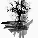 Grunge Tree by Denis Marsili