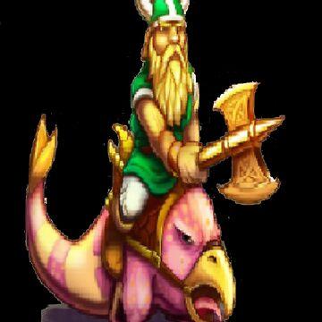 Gilius Thunderhead: Golden Axe by Carpaccio
