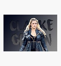 Clarke 'Grounder' Griffin Photographic Print