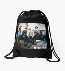 BTS - Run (Japanese Vers.) Drawstring Bag