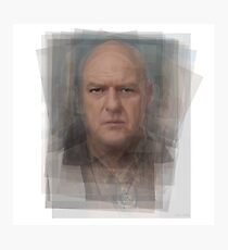 Hank Schrader Breaking Bad Photographic Print