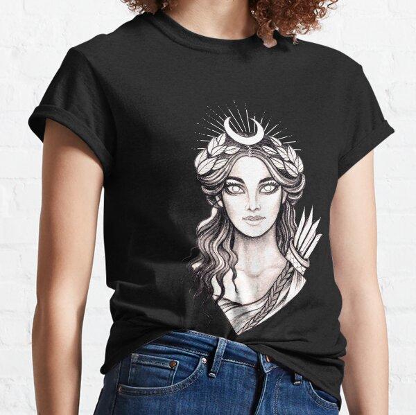 Artemis Hunt Goddess - Greek Mythology Ancient Greece Hunter Classic T-Shirt