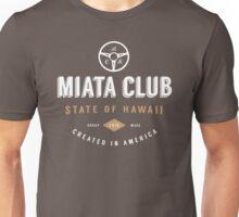 Miata Club of Hawaii Two Hipster Print Unisex T-Shirt