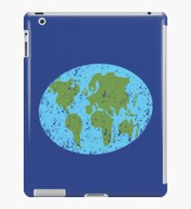 World map distressed Asia, Africa, Europe iPad Case/Skin