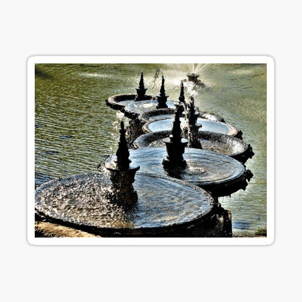 Brunnen, Palais Longchamp, Marseille Sticker