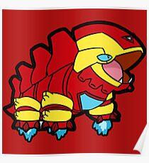 Pokemon Laironman Poster