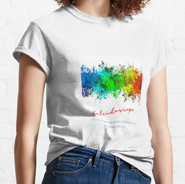 Kaleidoscope meaning of color Classic T-Shirt