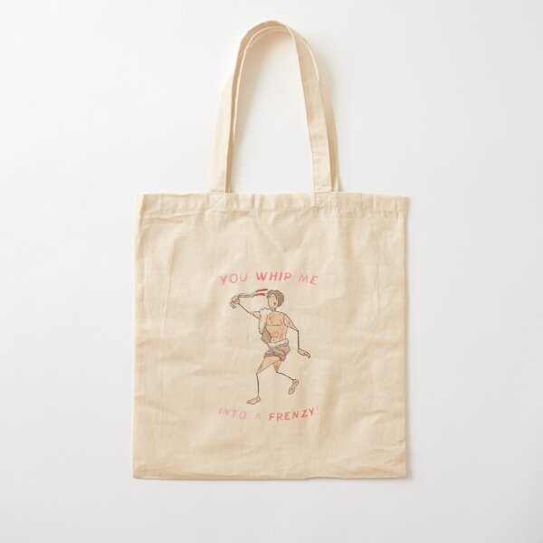 Lupercalia celebrant - You Whip Me Into A Frenzy! Cotton Tote Bag