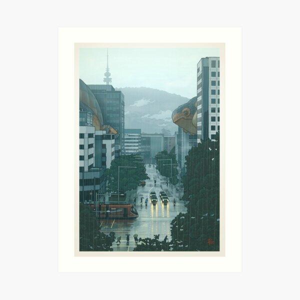 36 Ansichten von Black Mountain: die Canetra La Niña Himmel Cetacea Migration (Drucke) Kunstdruck