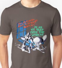 Pinky and Brain Take over The world T-Shirt