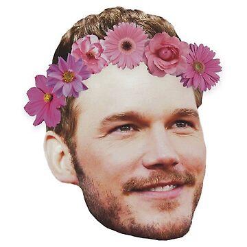 Flower Chris Pratt by teamhessa