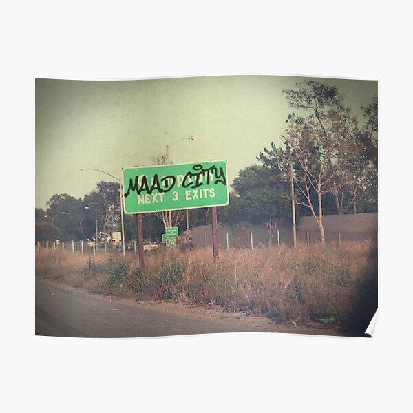 m.A.A.d City Poster