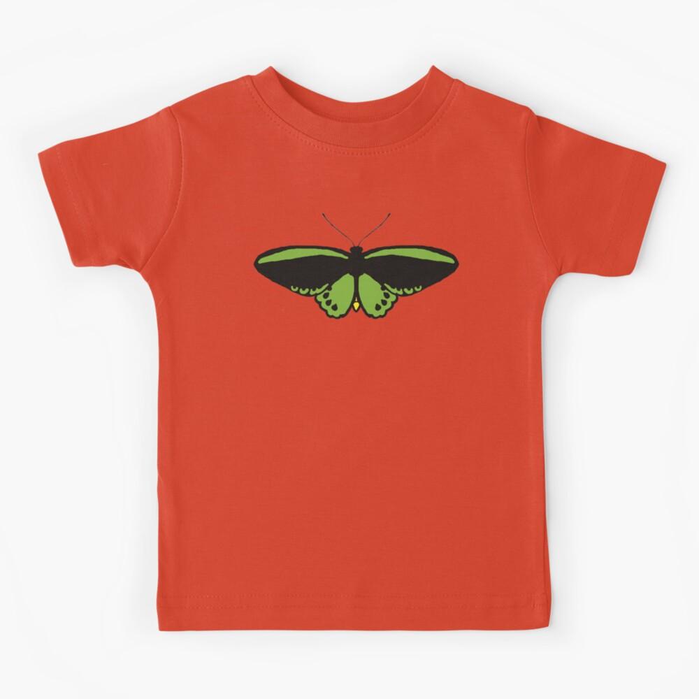 Richmond Birdwing Butterfly Kids T-Shirt