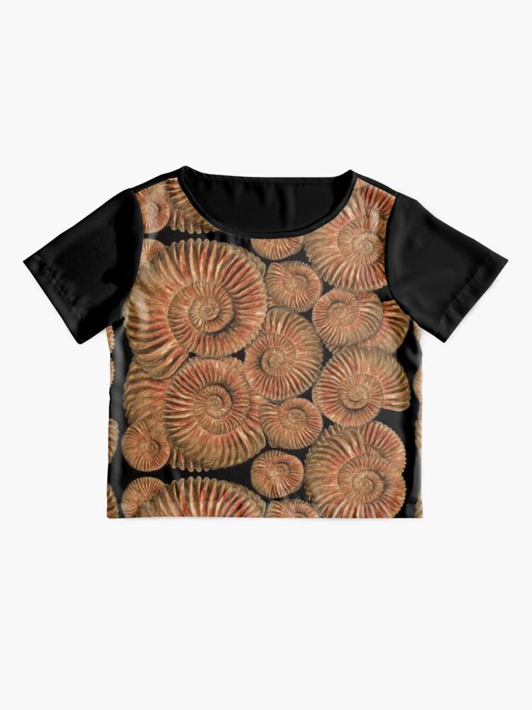 Alternate view of Ammonites Chiffon Top