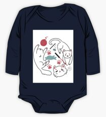 carefree cats One Piece - Long Sleeve
