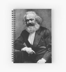 Karl Marx (best quality) Spiral Notebook