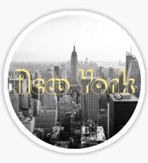 Empire State of Mind Sticker