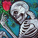 Skeleton Rose by Laura Barbosa