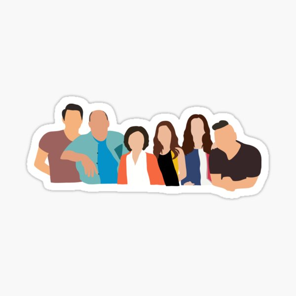 Kim's Convenience All Characters  Sticker