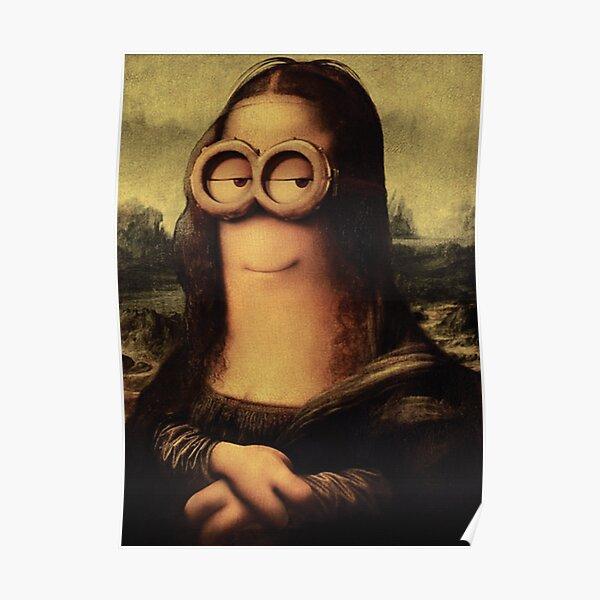 Minion Lisa Poster