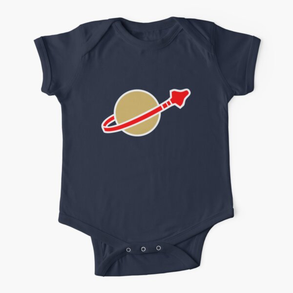 LEGO Classic Space Short Sleeve Baby One-Piece