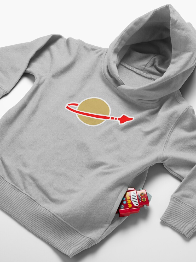 Alternate view of LEGO Classic Space Toddler Pullover Hoodie