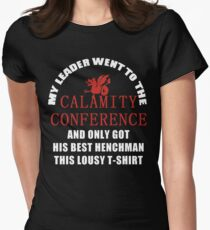 21's- Calamity Conference T-Shirt Womens Fitted T-Shirt