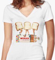 Wonder Women Women's Fitted V-Neck T-Shirt